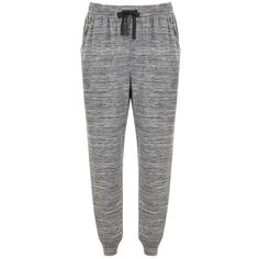Hygge by Mint Velvet Slim Fit Joggers, Grey (€78) ❤ liked on Polyvore featuring activewear, activewear pants and mint velvet
