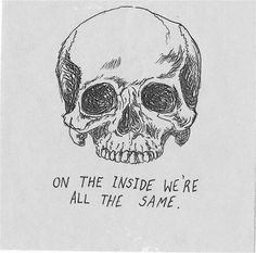 awesome Skull tattoo idea, considering I'm a humanist and everything