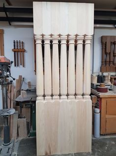 Our New Orleans pattern. Porch Posts, Candles, Wood, Pattern, Woodwind Instrument, Timber Wood, Patterns, Porch Columns, Candy