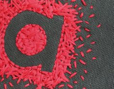 43 Ideas for embroidery letters stitches negative space Etsy Embroidery, Embroidery Letters, Embroidery Bags, Modern Embroidery, Embroidery Hoop Art, Cross Stitch Embroidery, Embroidery Designs, Creative Embroidery, Diy Broderie