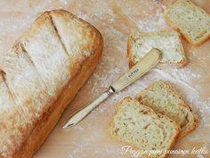 Rapea vaalea leipä ja taikinaterapiaa — Peggyn pieni punainen keittio