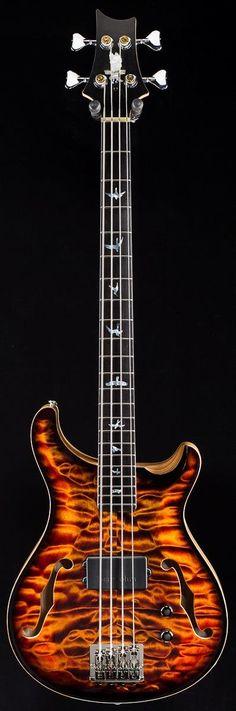 "PRS ""Electric Tiger"" Bass 4  --- https://www.pinterest.com/lardyfatboy/"