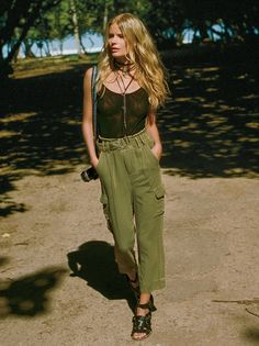 Summer's Over Cargo Pants at Free People Clothing Boutique