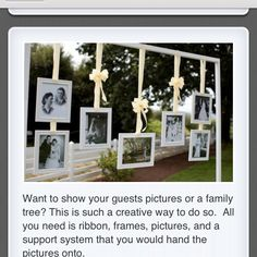 Simply amazing way to display pictures in a fun way