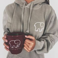 comment if you're excited for new items... ☕️☁️ #SaveTheElephants