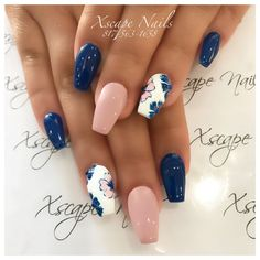 Die 100 trendigen frühen Frühlingsnägel-Designs und Farben sind so perfekt für 20 … The 100 Trending Early Spring Nails Art Designs And colors are so perfect for Hope they can inspire you and read the article to get the gallery. Spring Nail Art, Spring Nails, Summer Nails, Cute Nails, Pretty Nails, My Nails, Gel Nail Art Designs, Nail Designs Spring, Flower Nails