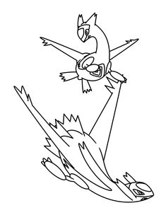 Pokemon Advanced Coloring Pages