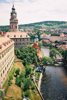 Czech Republic Chesky Krumlov , was here for summer solstise festival , great fun awesome place and people :)