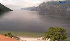 Peaceful view on Lake Garda. Visit our web site to watch this LIVE CAM!