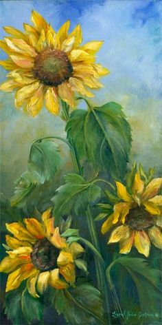 Sunflowers by Laurel Jordan Genteman