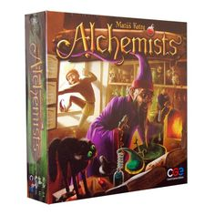 Alchemists - beautiful euro style, similar to Dungeon Petz. Uses logic.