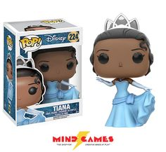 Tiana is the protagonist of Disney's 2009 animated feature film, The Princess and the Frog, and the ninth official Disney Princess. She is a gifted cook living in New Orleans during the Jazz Age, with the dream of opening and owning a restaurant of her own. She works hard to try and make that dream come true. In a twist of fate, she kisses a frog and goes on an adventure through the New Orleans bayou.