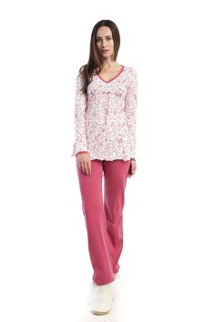 Battle cold nights in style wearing a 100% cotton pyjama! «Bianca» only for you! http://www.vampfashion.com/collections-mo-en/nightwear-mo-en.html #vampfashion #pyjama