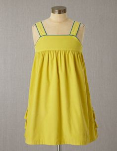 I've spotted this @BodenClothing Cord Pinafore Mellow Yellow
