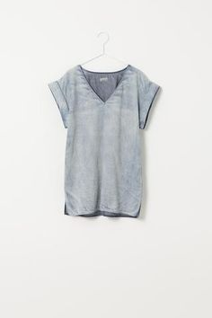 #Street Style#Fall color# denim top