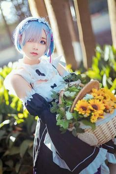 Cosplay:Rem from Re:zero