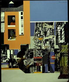 "magictransistor: "" Romare Bearden. Black Manhattan. 1969. """