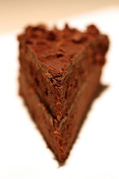 Dark chocolate coconut cake with dark chocolate macadamia nut frosting.....AND it is completely primal!
