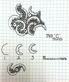 """That """"C"""" thing tangle 