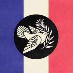 Obey - Peace for France Attentat Paris, Pray For Paris, But Is It Art, France, Oui Oui, Graphic, Art World, Photo Galleries, People