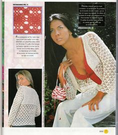 butterflycreaciones / fanaticadel tejido: revista croché 7 Boutique, Album, Lace, Women, Fashion, Templates, Point Lace, African Flowers, Journals