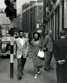 "Culture,CaribbeanDiaspora-Reading List: ""BLACK BRITAIN A Photographic History"", Paul Gilroy, Preface Stuart Hall gettyimages blackbritain Culture Black Love, Black Is Beautiful, Black And White, Black Man, Vintage London, Old London, Old Photos, Vintage Photos, Rockabilly"