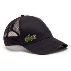 Lacoste MEN S TRUCKER CAP ( 50) ❤ liked on Polyvore featuring men s  fashion 0cfbb2312dd