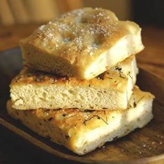 Onion Focaccia - who knew that a fancy bread could be so easy to make? I sprinkled freshly grated parmesan on top of the loaf before putting it in the oven, and it was perfect with our soup dinner