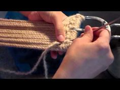 How to Make a Mohair Cinch, Part 8 (needle-off ends part2) - YouTube