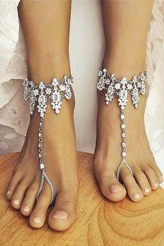 beach wedding shoes baresandalsllc / http://www.himisspuff.com/beach-wedding-shoes-barefoot-sandals/3/