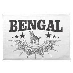 #Bengal country placemat - #country gifts style diy gift ideas