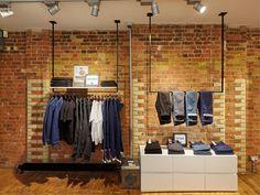 FormRoom for Levi's | Line 8 Pop-Up, Charlotte Road | #Levis #Line8 #PopUp #RetailInteriors #StoreDesign #VM