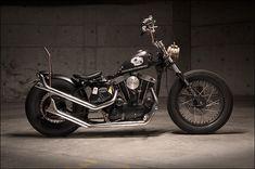 1969 Harley RatBobber - Pipeburn - Purveyors of Classic Motorcycles, Cafe Racers & Custom motorbikes