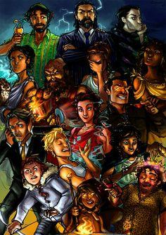 Percy Jackson - the gods