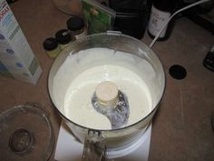 Did you know you can make your own paint using powdered milk and borax? What? Here's the tutorial.