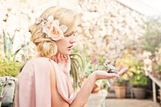 Summer wedding hair accessories- 3
