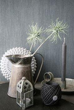 Behang Grijs / Wallpaper Grey Collection Colourline - BN