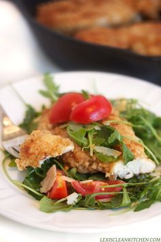 Chicken Milanese {with Crispy Fried Chicken} - Lexi's Clean Kitchen