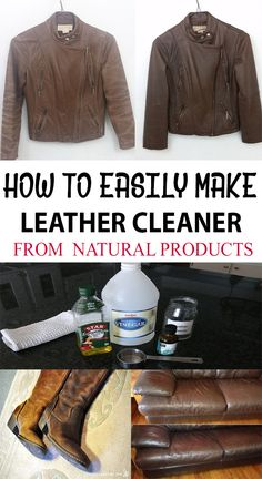 Clean and recondition your leather items at home! See how to DIY!