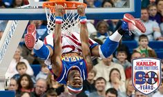 Harlem Globetrotters, a basketball team established in 1926, arrives in the UK to swing and bounce the ball and entertain guests of all ages