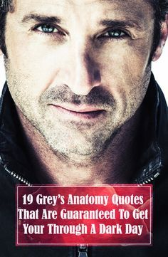 Need inspiration? Love Grey's Anatomy? Here are 19 Grey's Anatomy quotes to help you through any day! The best motivational quotes from Grey's Anatomy characters Meredith Grey, Derek Shepherd, Mark Sloan, Cristina Yang, Alex Karev, Jackson Avery, and April Kepner.