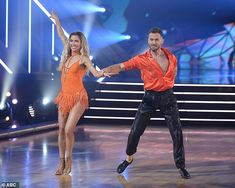 Sorry samba:Reality star Kaitlyn and Artem Chigvintsev, 38, also turned out a samba to Justin Bieber's Sorry, which Kaitlyn, a Belieber, was thrilled about