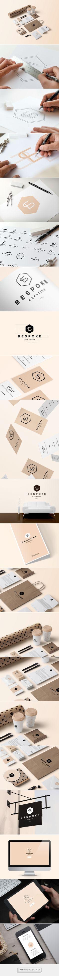 Graphic design corporative Branding and Website Design: Bespoke Creative by Tomasz Mazurczak Logo Design, Web Design, Brand Identity Design, Graphic Design Typography, Corporate Design, Business Design, Logo Inspiration, Editorial Design, Vector Logos