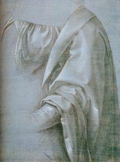 Boltraffio: Estudio preparatorio para la Madonna Litta, h. 1490-91.