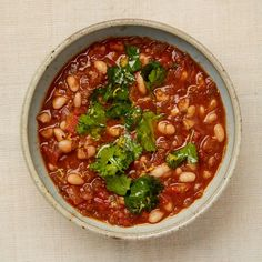 Iraqi white bean stew - Meera Sodha