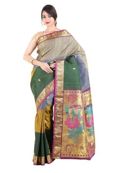 Check it for Wedding silk saree, you will get lot of new collection here: #Bridal   #Silksarees   #onlineshopping   #marriage   #fashion
