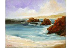 Low Tide in Carmel by Kathleen Murray