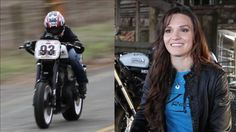 She races for the Parker Brammo Motorcycle Racing Team - Shelina Moreda: The Next Danica Patrick on Two Wheels? via WSJ