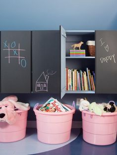 The experts at HGTV.com share toy storage, kids storage and playroom storage solutions to make cleaning up a breeze.