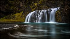 Small waterfall by Sus Bogaerts on 500px